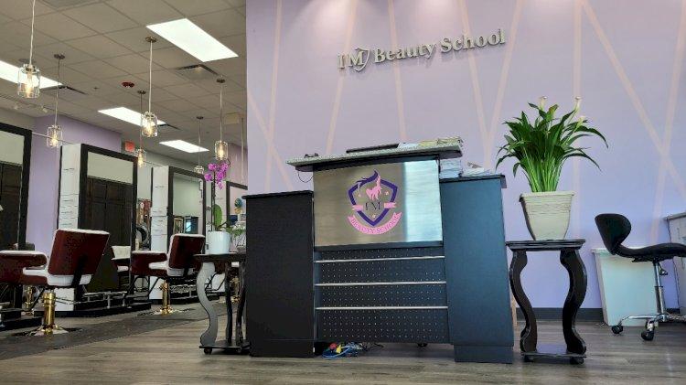 Beauty School Reception