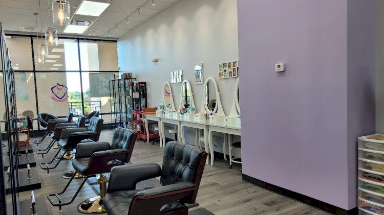 Beauty School Customer Training Area