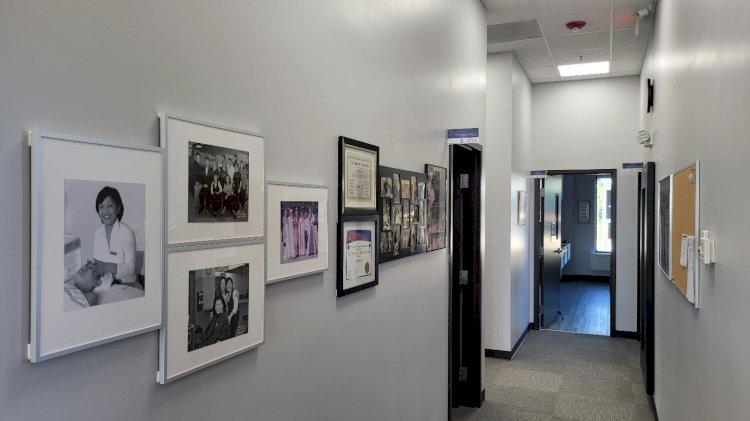 Beauty School Gallery Area